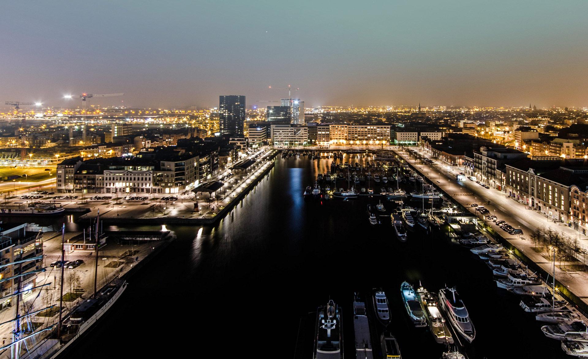 Het Eilandje, Antwerp, Belgium